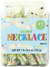 Smarties Candy Necklace ~ 36 Count