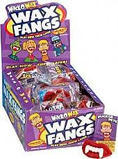 Wack-O-Wax Fangs ~ 24 Count Box