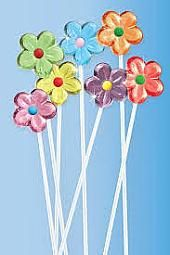 Twinkle Mixed Flower Pops  ~ 60 Count