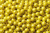 Shimmer Yellow Sixlets ~ 2lbs