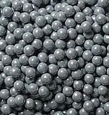 Silver Candy Beads ~ 2lbs.
