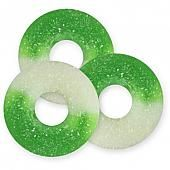 Albanese Green Apple Gummi Rings ~ 4.5lb Bag
