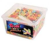 Trolli Sour Brite Crawlers - 63.5oz Tub
