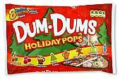 Dum Dum Holiday Mini Pops ~ 44Ct. Bag