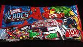 Marvel Super Heroes Candy Sticks ~ 101ct.