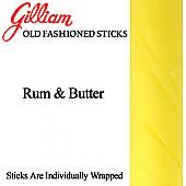 Rum & Butter Candy Stick ~ 80 Count Box