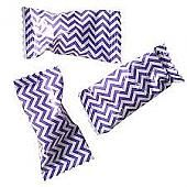 Purple Chevron Buttermints ~ 50 Count Bag
