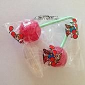 Twin Cherry Lollipops ~ 48 Count