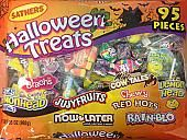 Sathers Halloween Treats ~ 95 Pieces
