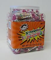 CeDe X-treme Sour Smarties Candy Rolls in 180ct Jar