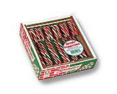 "Spangler 6"" Red, White , & Green Candy Canes ~ 30 - 18 Count"