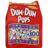 Dum Dum Mini Pops Gusset Bag