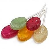 Dr. John's Sugar Free Fresh Fruit Lollipops ~ 2.5lb.