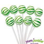Green Petite Sassy Suckers Lollipops ~ 400 Count