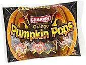 Charms Orange Pumpkin Pops - 11oz Bag