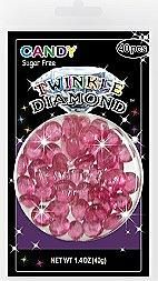 Sugar Free Purple Twinkle Diamond Candy Gems ~ 40 Pieces