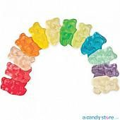 Albanese 12 Flavor Assorted Gummi Bears ~ 5lb Bag