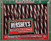 Hershey Chocolate Mint Candy Canes