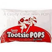 Tootsie Roll Candy Cane Pops