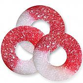 Albanese Cherry Gummi Rings ~ 4.5lb Bag