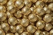 Gold Foil Chocolate Balls