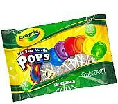 Crayola Color Your Mouth Pops ~ 30 Count