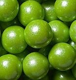 Shimmer Lime Green Gumballs ~ 2lbs
