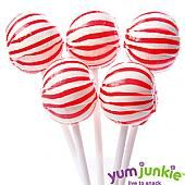 Red Sassy Suckers Lollipops ~ 100 Count