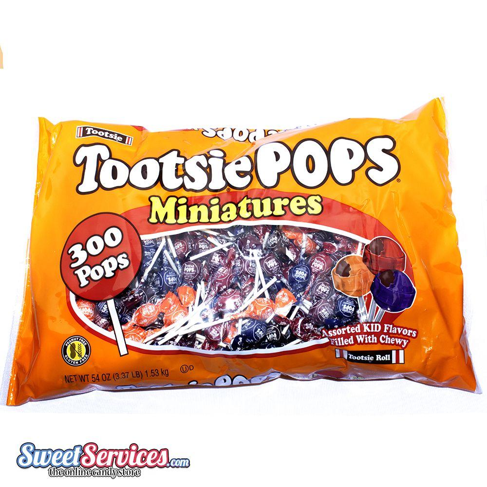 tootsie roll mini pops 300 count bag bulk lollipops
