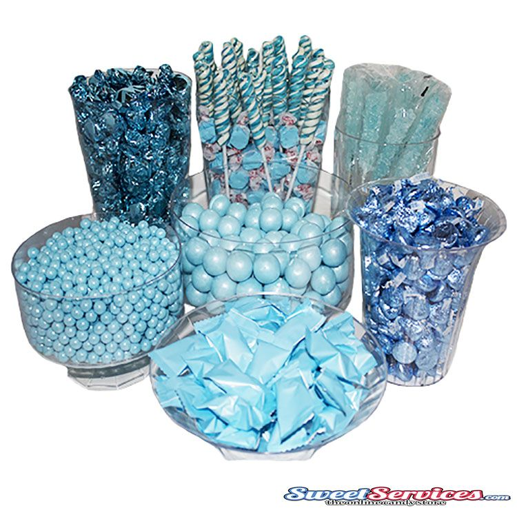 light blue candy buffet blue candy buffet sweetservices com rh sweetservices com baby shower blue candy buffet