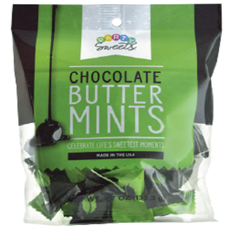 Dark Chocolate Buttermints Mint Candy Sweetservices Com