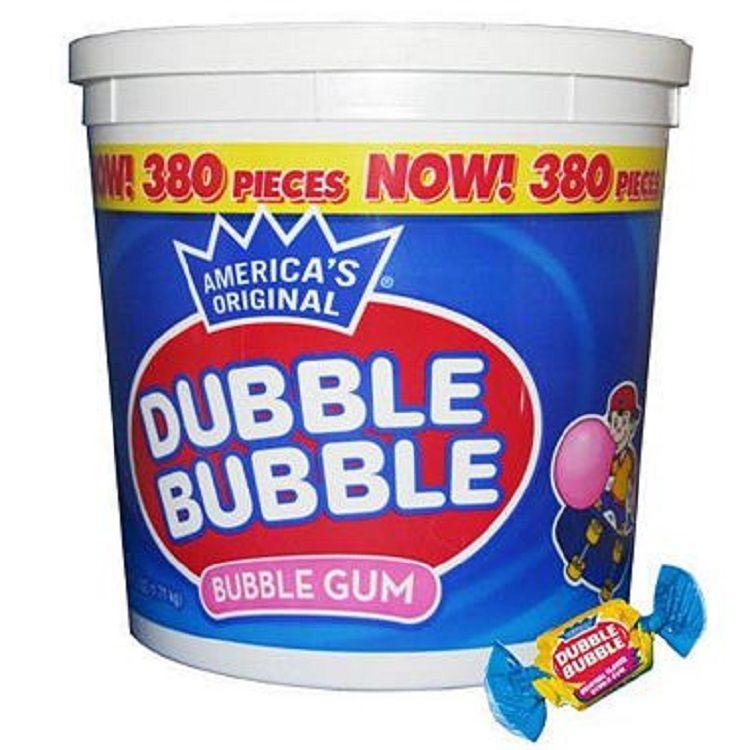 Dubble Bubble Gum Original 380 Count | Bubble Gum | Sweetservices.com