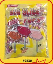 Big Slice Fruit & Cream Pop 16~48ct. Bags
