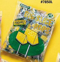 Big Slice Pineapple Pop 16~48ct. Bags