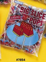 Big Slice Cherry Pop  16~48ct. Bags