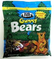 Black Forest Gummi Bears ~ 3lb Bag