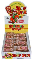 Slap Stick Caramel Pops ~ 1/36ct. Box
