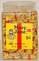 Mary Janes ~ 1/240ct. Tub
