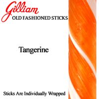 Tangerine Candy Stick ~ 80 Count Box